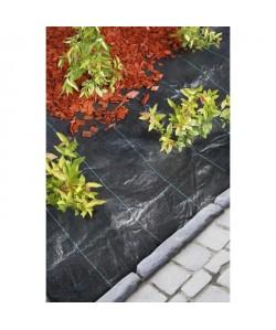 NATURE Toile de paillage spécial paysages en polypropylene tissé 3,30x5m  Noir
