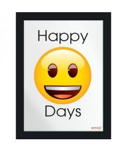 Image imprimée  30 x 40 cm  Bois   Happy Days
