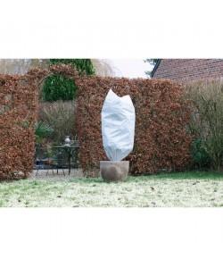 NATURE Housse d\'hivernage 50 g/m˛  Ř50 cm x 1 m  Blanc