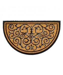 Paillasson a motifs  45x75 cm  Style Classique  Coloris naturel