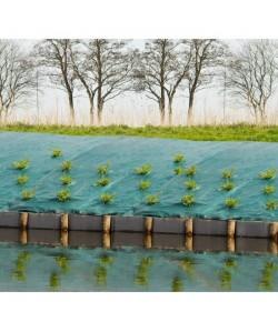 Toile de paillage paysages  vert 90 gr/m˛ 5,2x5m