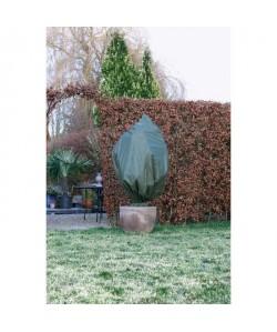 NATURE Housse d\'hivernage 50 g/m˛  Ř100 cm x 1,50 m  Vert