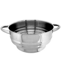 ARTAME Passoire cuit vapeur multi diametre inox  16 a 24 cm
