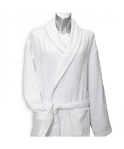 JULES CLARYSSE Peignoir de bain Classic 120x60 cm S/M blanc
