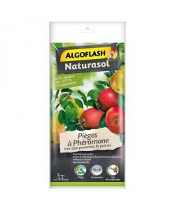 ALGOFLASH NATURASOL Pieges a phéromone Ver des pommes et des poires  2 pieges