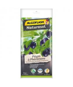 ALGOFLASH NATURASOL Pieges a phéromone Ver des prunes  2 pieges