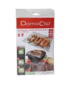 DOMOCLIP 2 blisters sachet de cuisson en papillotte spécial barbecue