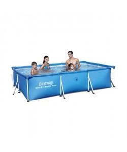 Piscine Tubulaire Amovible pour Enfants Bestway Deluxe Splash Frame Pool 300x201x66 cm