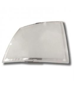 Plafonnier Mode carré hauteur 7 cm E27 60W blanc