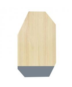 ECO DESIGN A1536 Planche a découper 30x50cm  Gris Anthracite