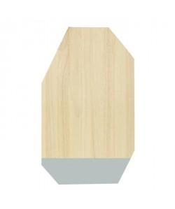 ECO DESIGN A1535 Planche a découper 30x50cm  Brut/Pastel