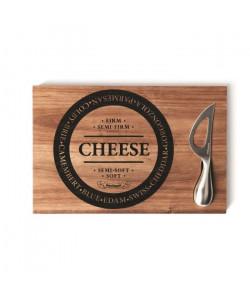 SP Planche  couteau a fromage  30 x 20 cm  Bois