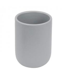 FRANDIS Gobelet en céramique Gris clair