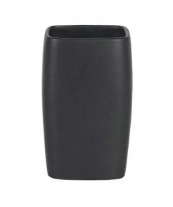RETRO Gobelet salle de bain  11x7x7cm  Noir