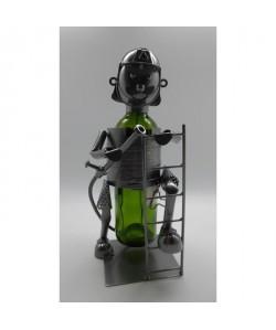 Porte bouteille Décoration Pompier 18x14x23cm  Métal