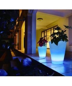 LUMISKY Vase lumineux conique Led télécommandable 38cm  Multicolore