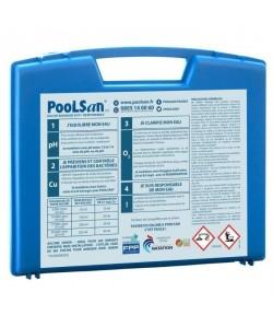 POOLSAN Kit complet de désinfection  100% sans chlore  Pour piscines de 5 a 20 mł