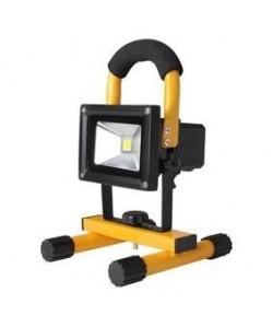 KONIG Projecteur LED  Rechargeable  20 W  1400 lm  Noir / Jaune