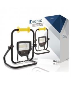 KONIG Projecteur LED  30 W  2300 lm  Noir