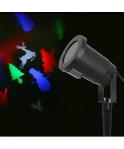 Projecteur LED de Noël  4 Design  Multicolore