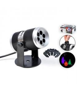 Projecteur LED de Noël intérieure  4 motifs