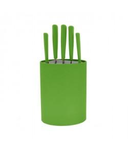 FRANDIS Bloc 5 couteaux  Vert