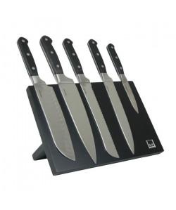 SP Bloc couteau magnétique Blade  6 pieces  Noir
