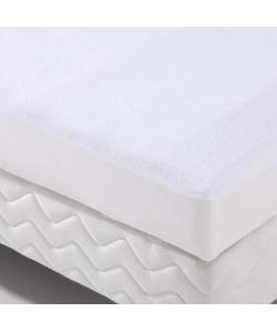 Alese forme housse imperméable Transalese éponge 100% coton  120 x 190 cm  Blanc