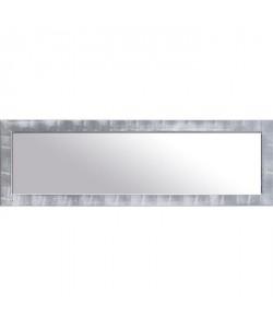NAPLES Miroir psyché pin 42x132 cm Argenté et blanc