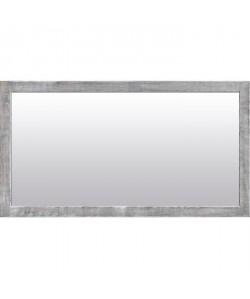 NAPLES Miroir psyché pin 72x132 cm Blanc et gris