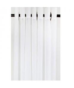 Voilage Uni Blanc 140x240cm