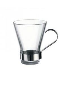 BORMIOLI ROCCO Lot de 6 tasses a café en Verre Ypsilon