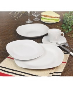 T100304830X Service de table  30 pcs  Porcelaine blanche