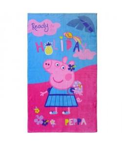 PEPPA PIG HOLIDAY Drap de plage Coton 70x120cm