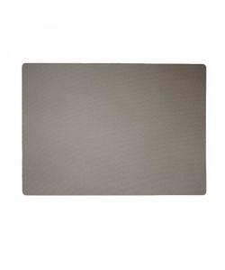 Set de table textile  43x30 cm  Gris taupe
