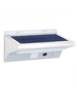 LUMISKY Spot solaire mural extérieur étanche avec détecteur  21 LEDs  330 Lm  Pivotante a 120C