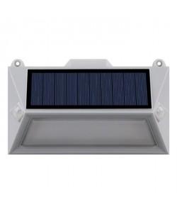 LUMISKY Spot solaire mural extérieur étanche avec détecteur  18 LEDs  150 Lm  Pivotante a 360C