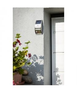 GALIX Spot solaire inox avec détecteur de présence
