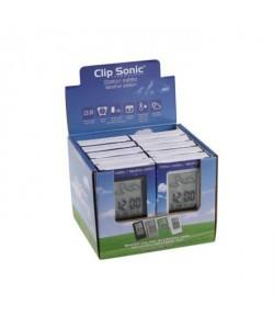 CLIPSONIC SL900 Présentoir de 12 stations météo