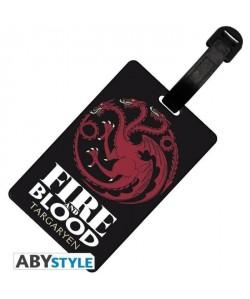 Etiquette de bagage Game Of Thrones : Targaryen