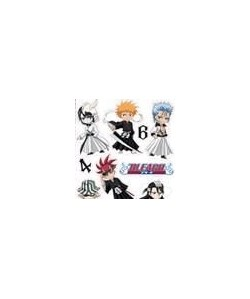Stickers Bleach blister  SD Characters  50 x 70 cm