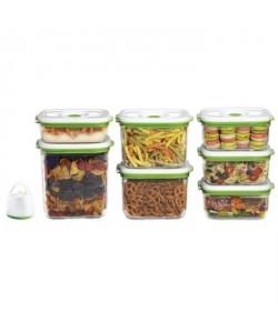 FOSA Kit de mise sous vide alimentaire en récipients 3450230014501000 ml blanc et vert