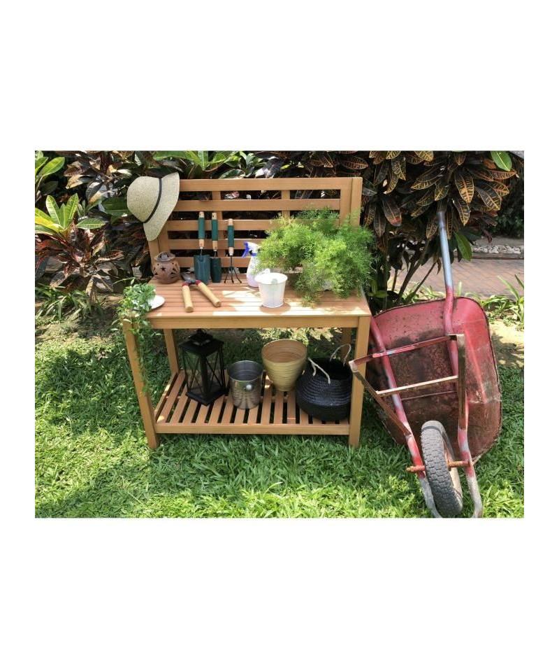 Table de plantation étagere pour jardin en acacia bois FSC ...