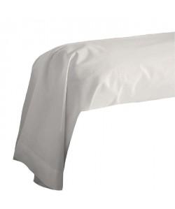 COTE DECO Taie de Traversin 100% coton 85x185 cm  Beige ficelle