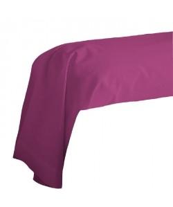 COTE DECO Taie de Traversin 100% coton 85x185 cm  Violet