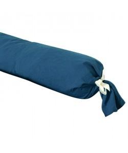 VENT DU SUD Taie de traversin PALACE 100% coton  43x195 cm  Bleu marine