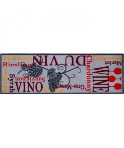 Tapis de cuisine a motifs  50x150 cm  Style Moderne  Coloris Multicolore