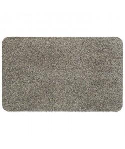 Tapis d\'entrée uni  40x60 cm  Style Classique  Coloris Granite