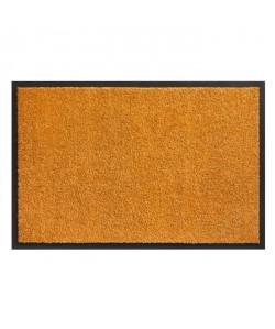 Tapis d?entrée TWISTER  Orange  60x90 cm  Support vinyl antidérapant