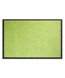 Tapis d?entrée TWISTER  Vert citron  90x150 cm  Support vinyl antidérapant